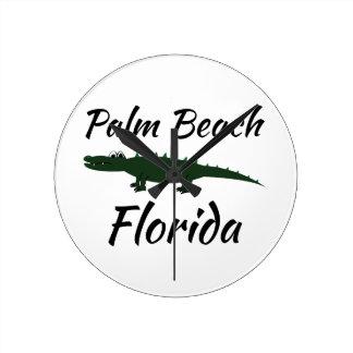 Palm Beach Florida Clock