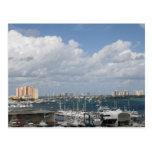 Palm Beach Florida FL Ocean bay beach Postcards