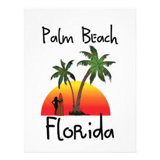Palm Beach Florida Letterhead Template
