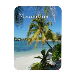 Palm beach on Mauritius Magnet