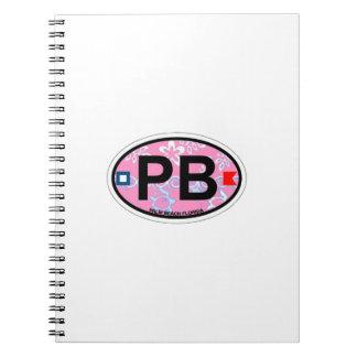 Palm Beach. Spiral Notebook