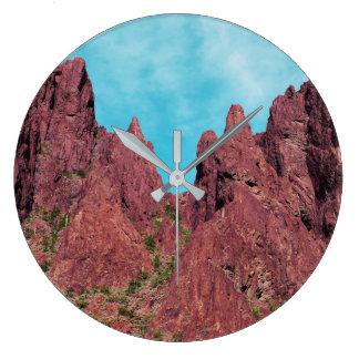 Palm Canyon Arizona Large Clock