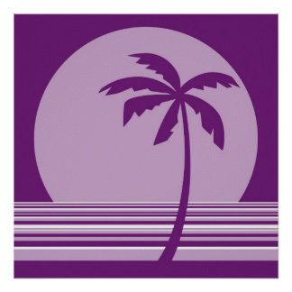 palm collection poster