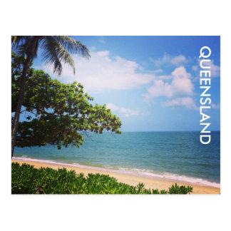 palm cove beach postcard