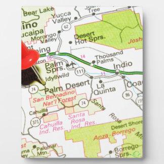 Palm Desert, California Plaque