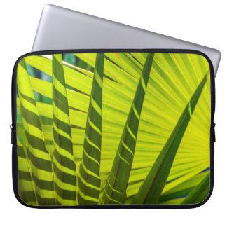 Palm Fan, Kilauea, Kauai, Hawaii Wetsuit Laptop Sleeve