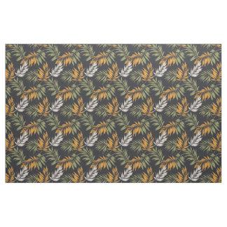 Palm Fonds Fall Style Pattern Fabric