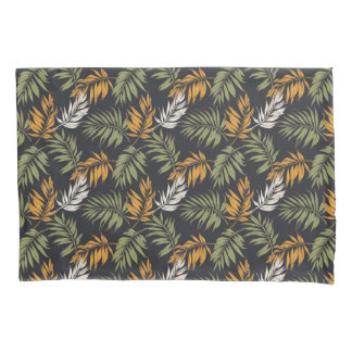 Palm Fonds Fall Style Pattern Pillowcase