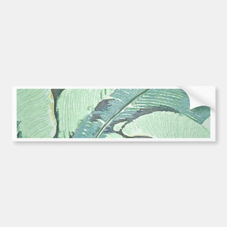 Palm Fronds Bumper Sticker