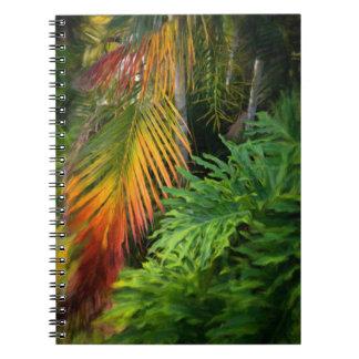 Palm Glow Notebook