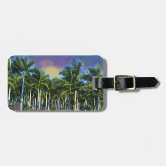 Palm Grove II Luggage Tag