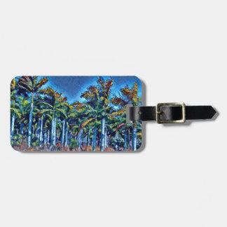 Palm Grove Luggage Tag