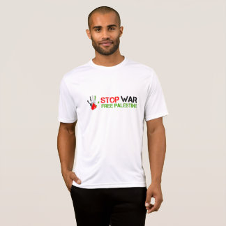 Palm Hand Stop War free Palestine Shirt