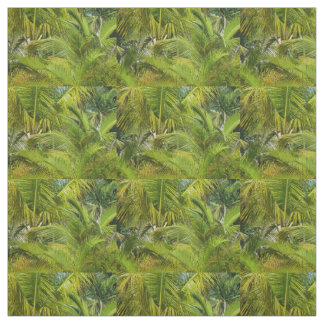 palm leaf fabric