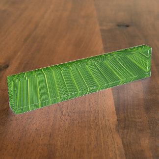 Palm Leaf Name Plate