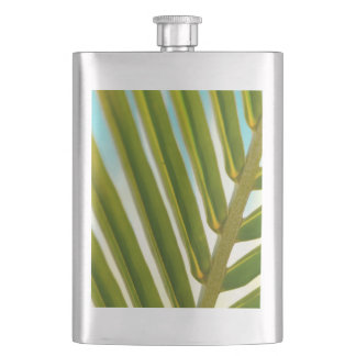 Palm Leaf Photo Flask