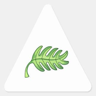 Palm Leaf Triangle Sticker