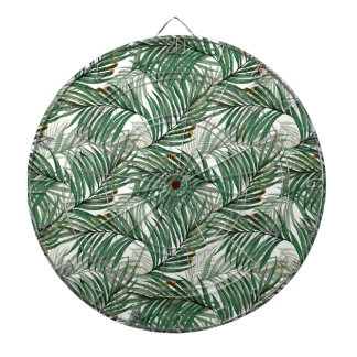 Palm leaves dartboard