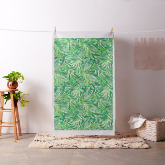 Palm leaves fabric