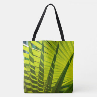 Palm Leaves Fan, Kauai, Hawaiian Beach Bag