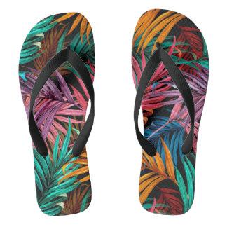 palm Leaves (fullcolor) Flip Flops