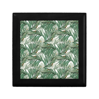 Palm leaves gift box