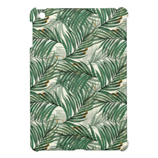 Palm leaves iPad mini case