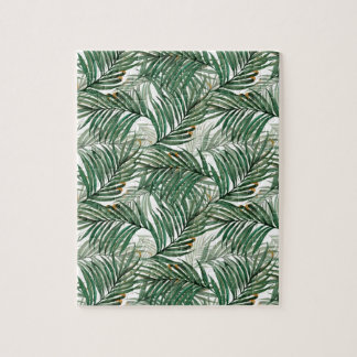 Palm leaves jigsaw puzzle