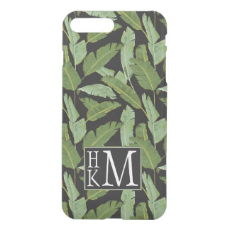Palm Leaves | Monogram iPhone 7 Plus Case