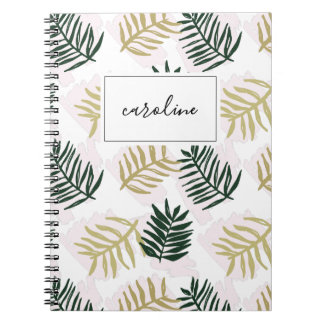 Palm Leaves Personalized Notebook