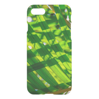 Palm Leaves Plaid, Kapaa, Kauai, Hawaii Wetsuit iPhone 8/7 Case
