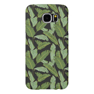 Palm Leaves Samsung Galaxy S6 Cases