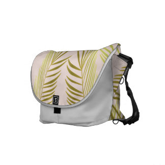 palm leaves sea breams commuter bag