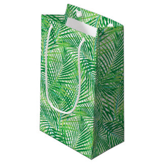 Palm leaves small gift bag