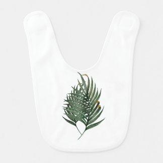 Palm leaves t-shirt bib