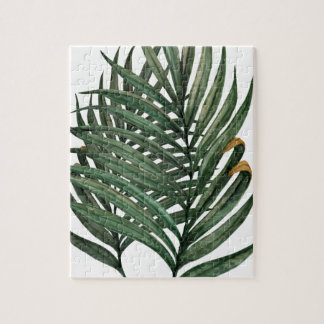 Palm leaves t-shirt jigsaw puzzle