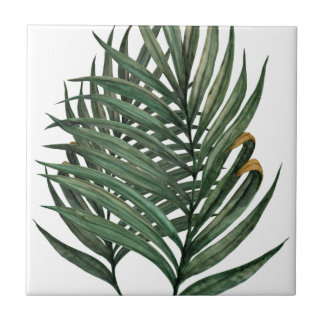 Palm leaves t-shirt tile