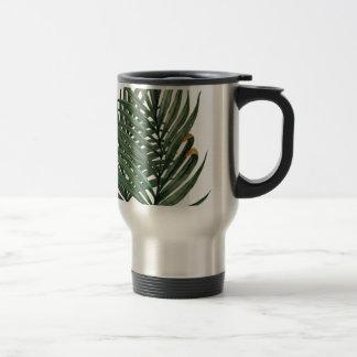 Palm leaves t-shirt travel mug