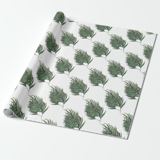 Palm leaves t-shirt wrapping paper