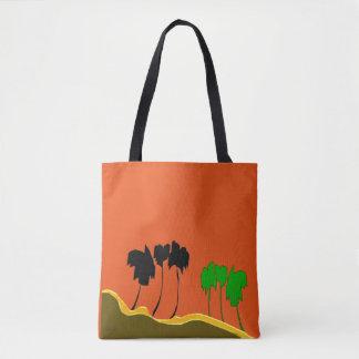 Palm Line Tote Bag