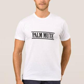 Palm Mute Black Color T-Shirt