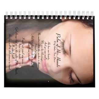 Palm of His Hands Two Page Calendar, Small Wall Calendars