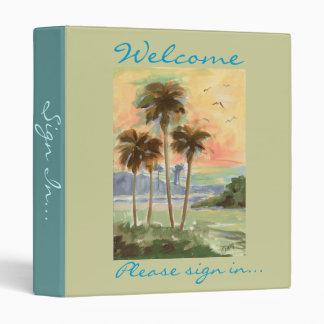 Palm Paradise binder