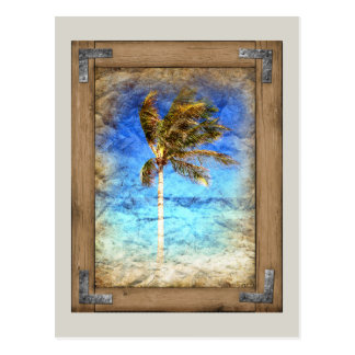 Palm Picture Framed Postcard
