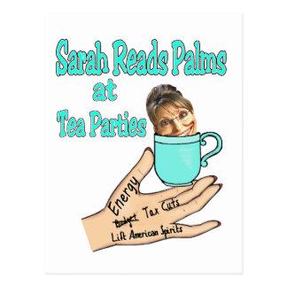 palm reader sarah postcard