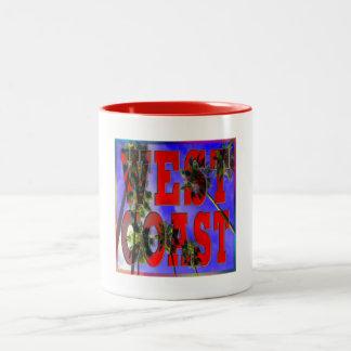Palm Sky West Coast Cup Coffee Mug
