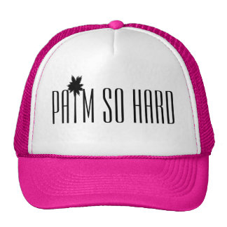 Palm So Hard Trucker Hat