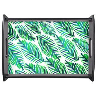 Palm Solace Serving Tray