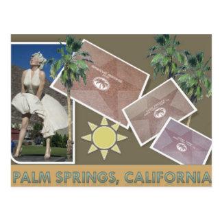 PALM SPRINGS #1 POSTCARD