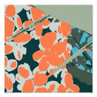 Palm Springs 6 Color Palm Berries 6D Photo Print